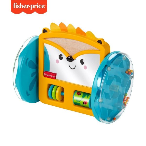 Fisher-Price Play & Crawl Hedgehog Mirror-0