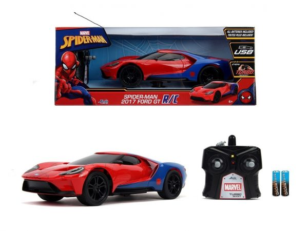 Marvel RC Spiderman 2017 Ford GT 1:16-0