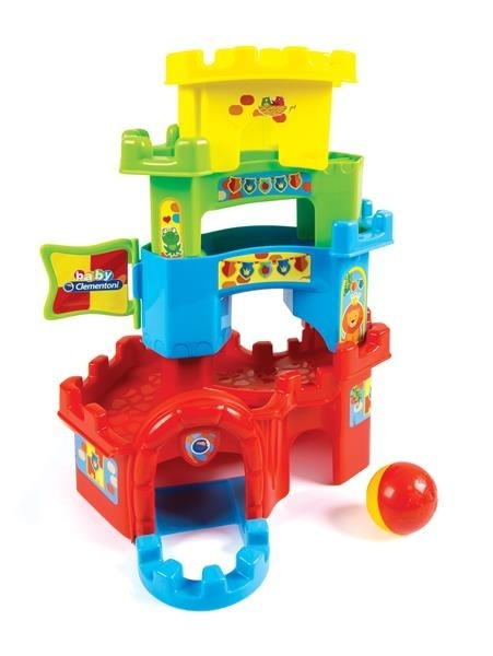 Clementoni, Roll and Drop fun castle-0