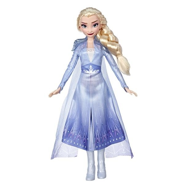 Disney Frozen 2, Basic Fashion Doll Elsa-0