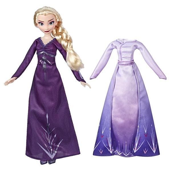 Disney Frozen 2, Doll And Extra Fashion Elsa -0