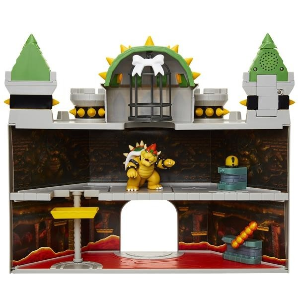 Super Mario 2.5 Inch Playset Bowser Castle-0