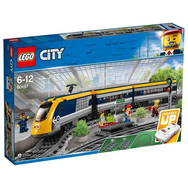 LEGO City Trains, Passagerartåg 60197-0