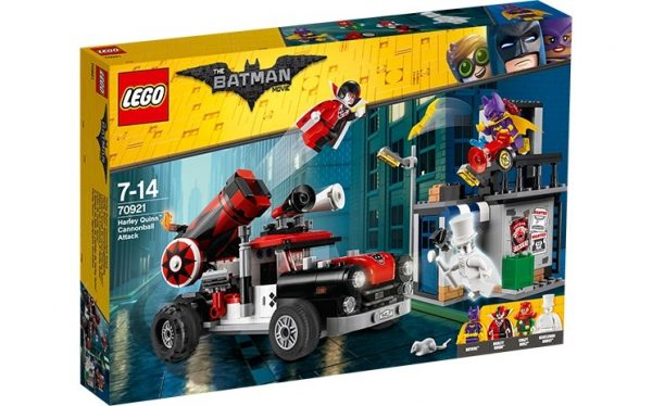 LEGO Batman Movie, Harley Quinn Kanonattack 70921-0