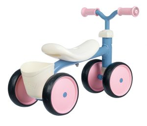 Springcykel, Smoby Rookie rosa/blå