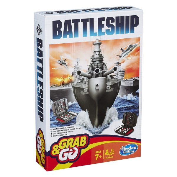 Sänka Skepp - Battleship Grab And Go/Travel-0