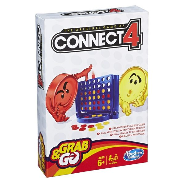 Connect 4 Grab And Go/Travel-0