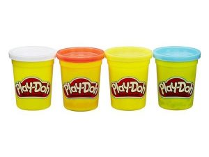 Play-Doh, Classic Colours, 4-Pack-0