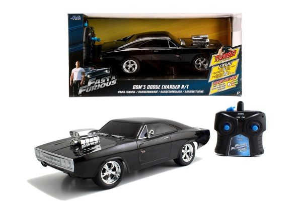 Fast & Furious RC 1970 Dodge Charger, 1:24-0