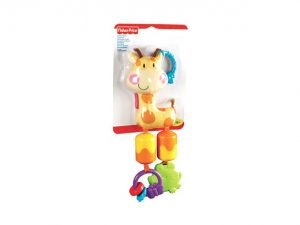 Fisher Price, Vagnmobil Giraff-0