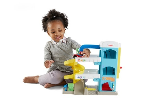 Fisher Price LP Helpful Neighbors Garage-0