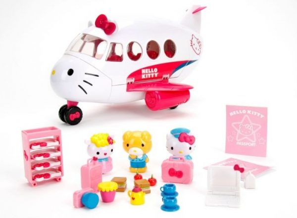 Hello Kitty Jet Plane Playset-0
