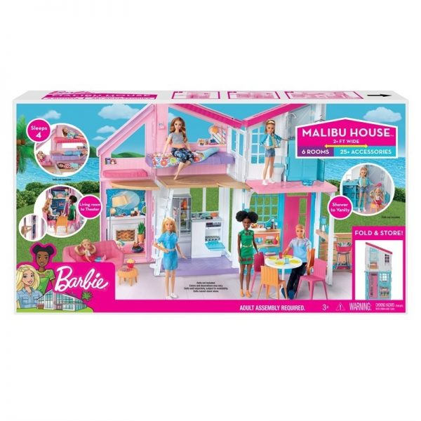 Barbie Malibu House Playset-0