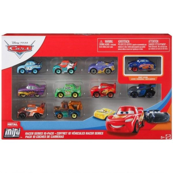 Disney Cars Mini Racers 10-Pack-0