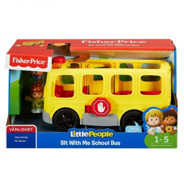 Fisher Price, Little People, Sit with Me School Bus-0