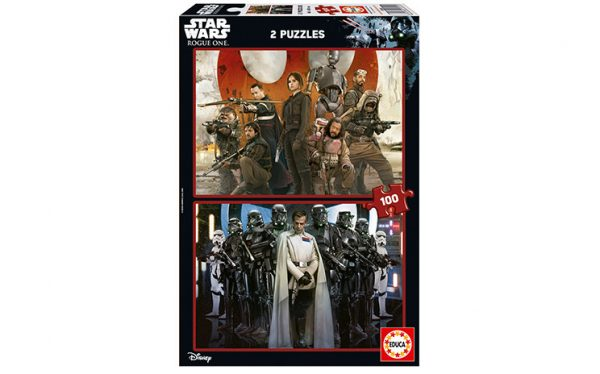 Star Wars Rogue One, Pussel 2 x 100-0