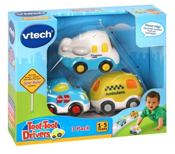 Vtech Toot Toot Emergency 3-pack SE-0